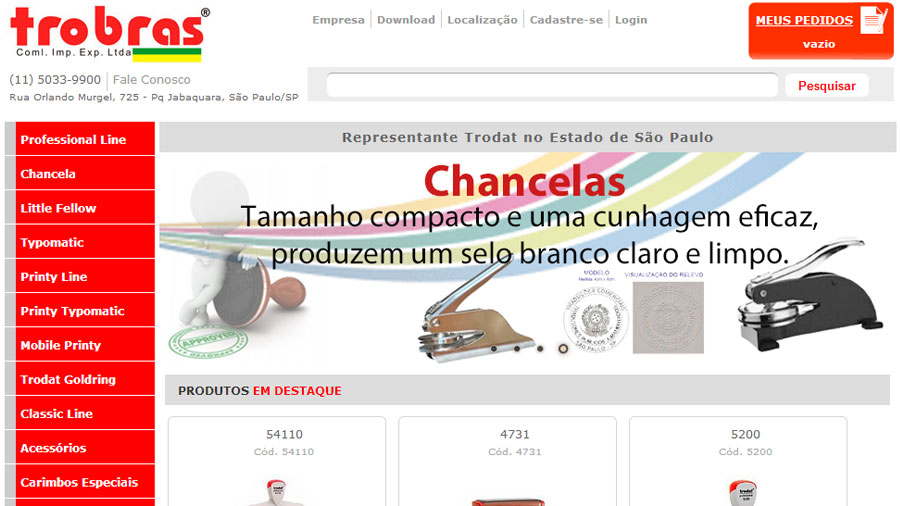 E-Commerce customizado