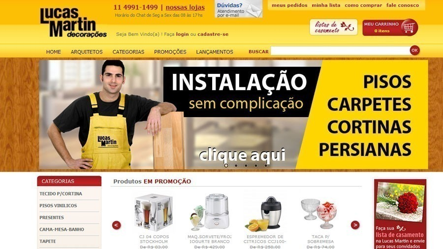 E-Commerce integrado com Protheus
